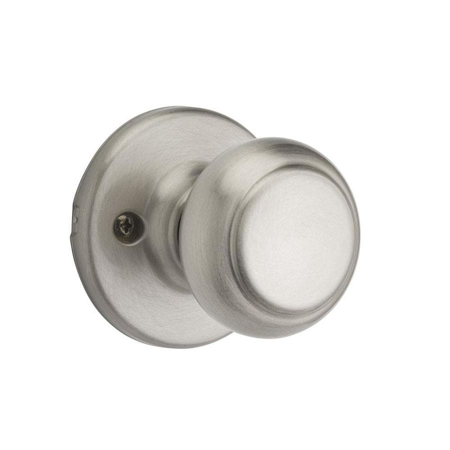 Kwikset Cove Satin Nickel Dummy Door Knob