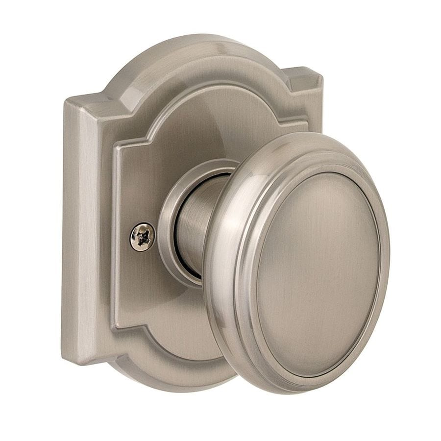 Kwikset Carnaby Satin Nickel Dummy Door Knob