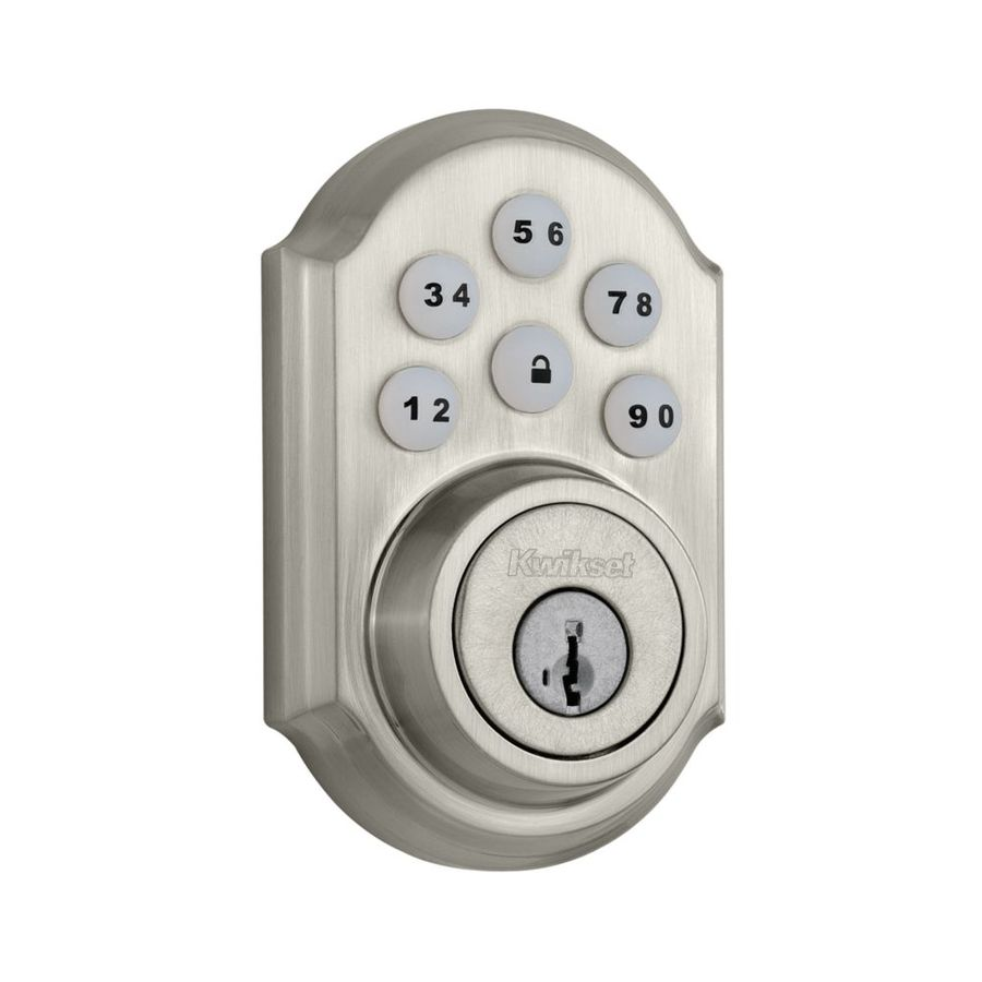 Shop Kwikset Smartcode Smartkey Satin Nickel Single