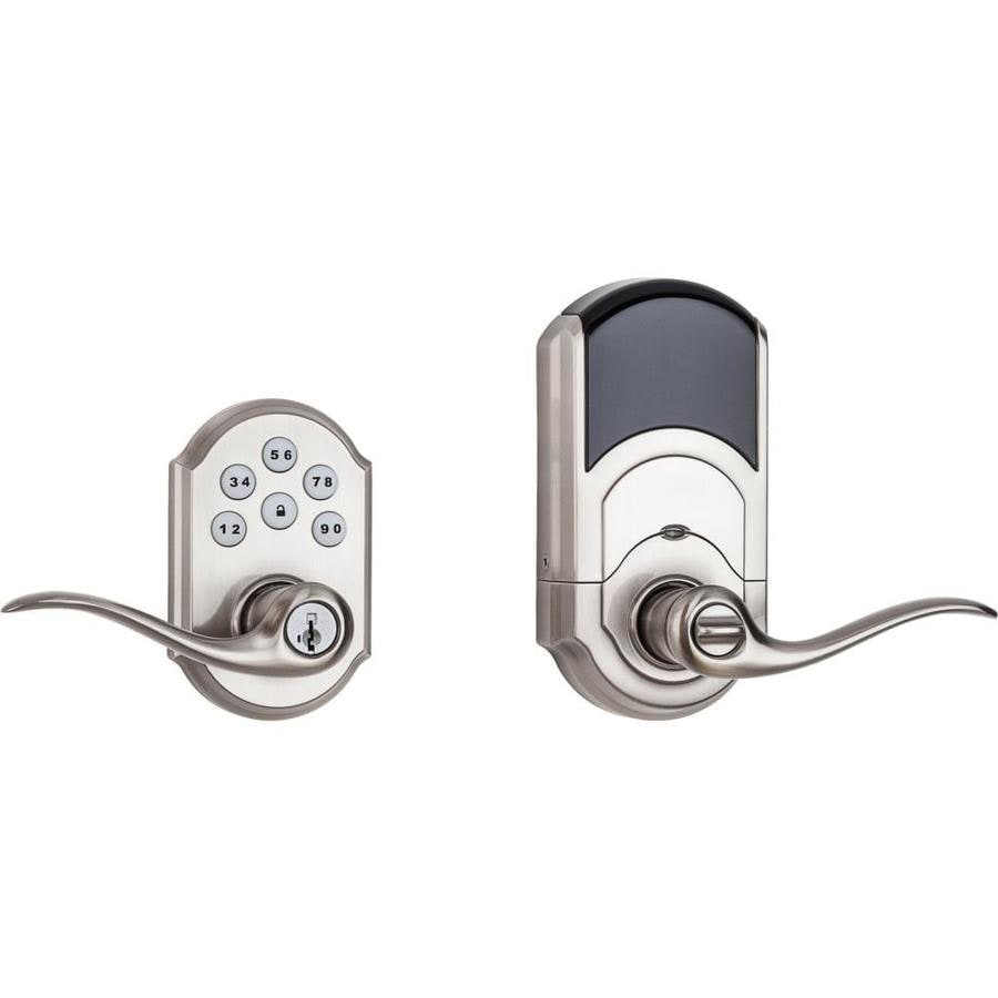 Superieur Kwikset SmartCode 912 Satin Nickel Universal Electronic Entry Door Lever