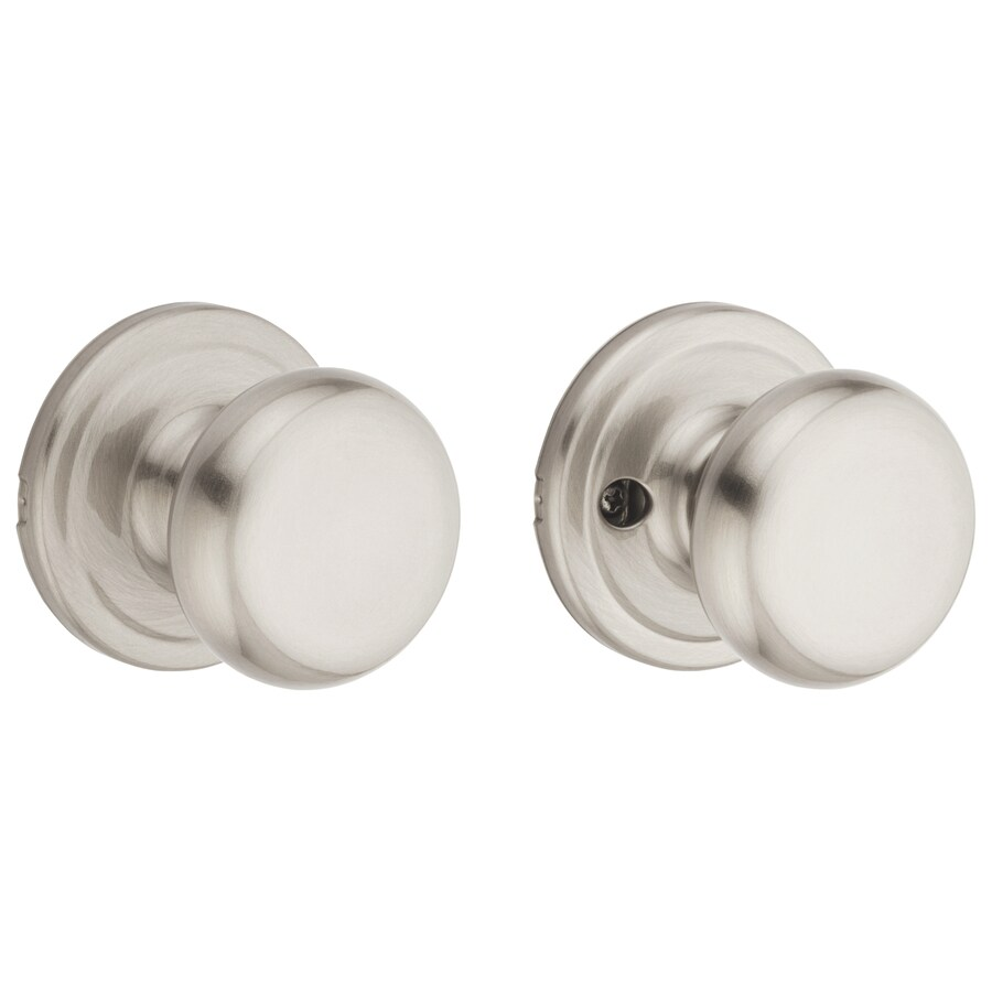Kwikset Juno Satin Nickel Mushroom Passage Door Knob