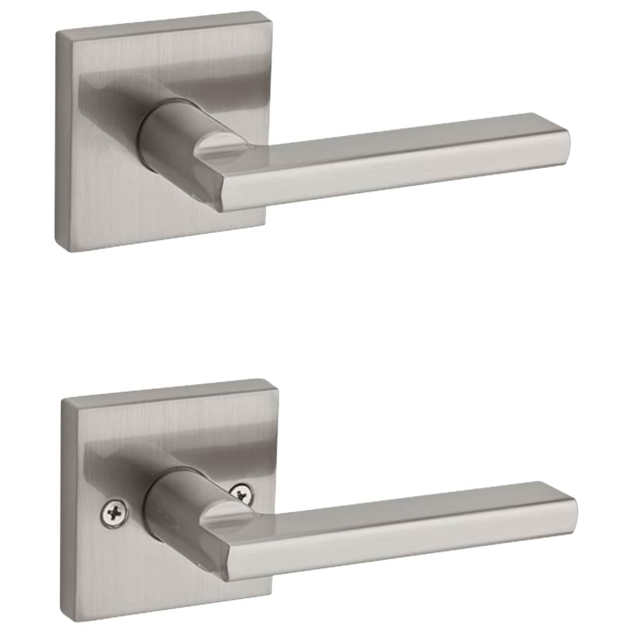 Kwikset Halifax Satin Nickel Page Door Handle