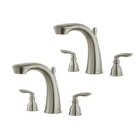 Pfister Avalon 1.20 GPM Single Hole Bathroom Faucet LG42-CB1K Brushed Nickel