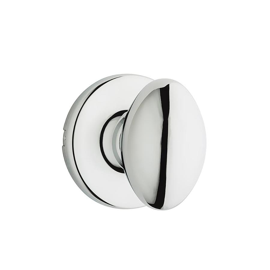 Kwikset Aliso Polished Chrome Egg Passage Door Knob