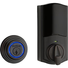 Kwikset Kevo Convert Venetian Bronze Single-Cylinder Deadbolt 1-Cylinder Smartkey No Keypad at Lowes - $76.65 in 5% of stores