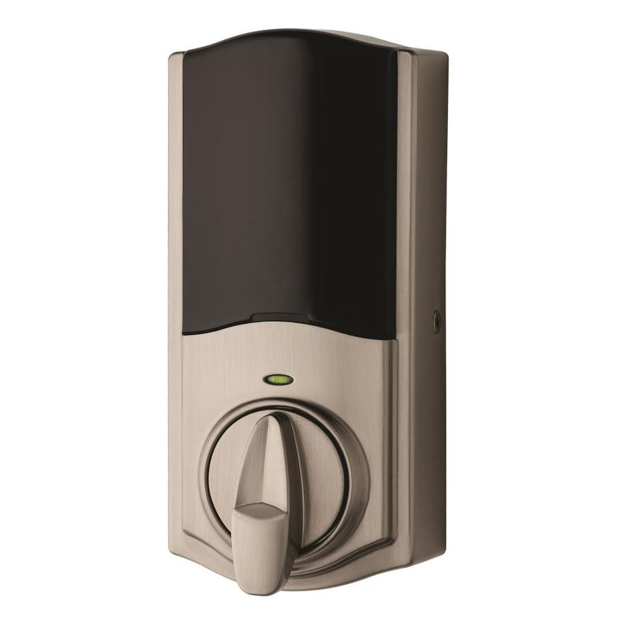 Kwikset 925 Kevo Convert Satin Nickel Motorized Electronic Entry Door Deadbolt
