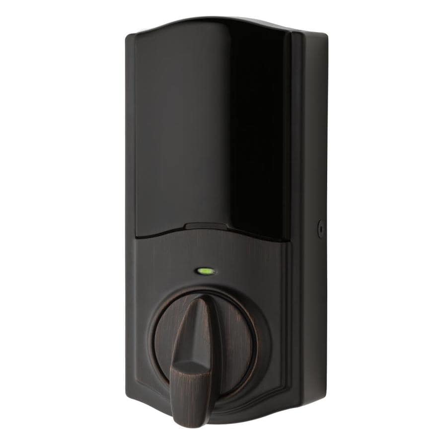 Kwikset Kevo Convert Venetian Bronze Motorized Electronic Entry Door Deadbolt