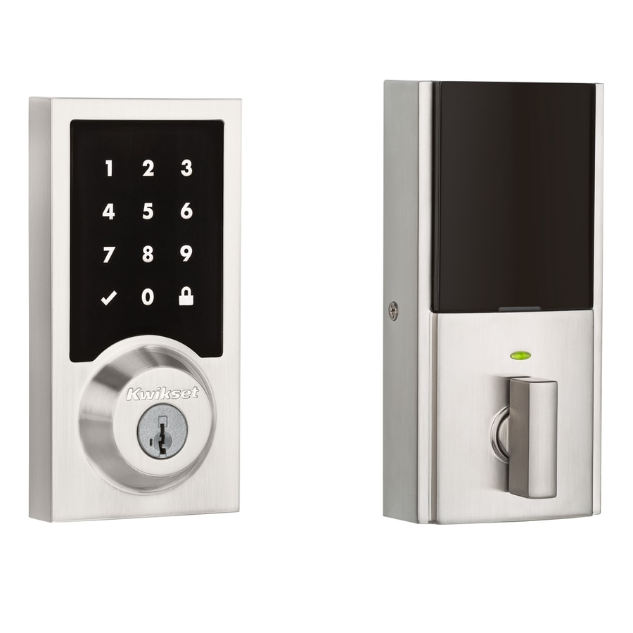 Kwikset 916 Satin Nickel Touchscreen Contemporary