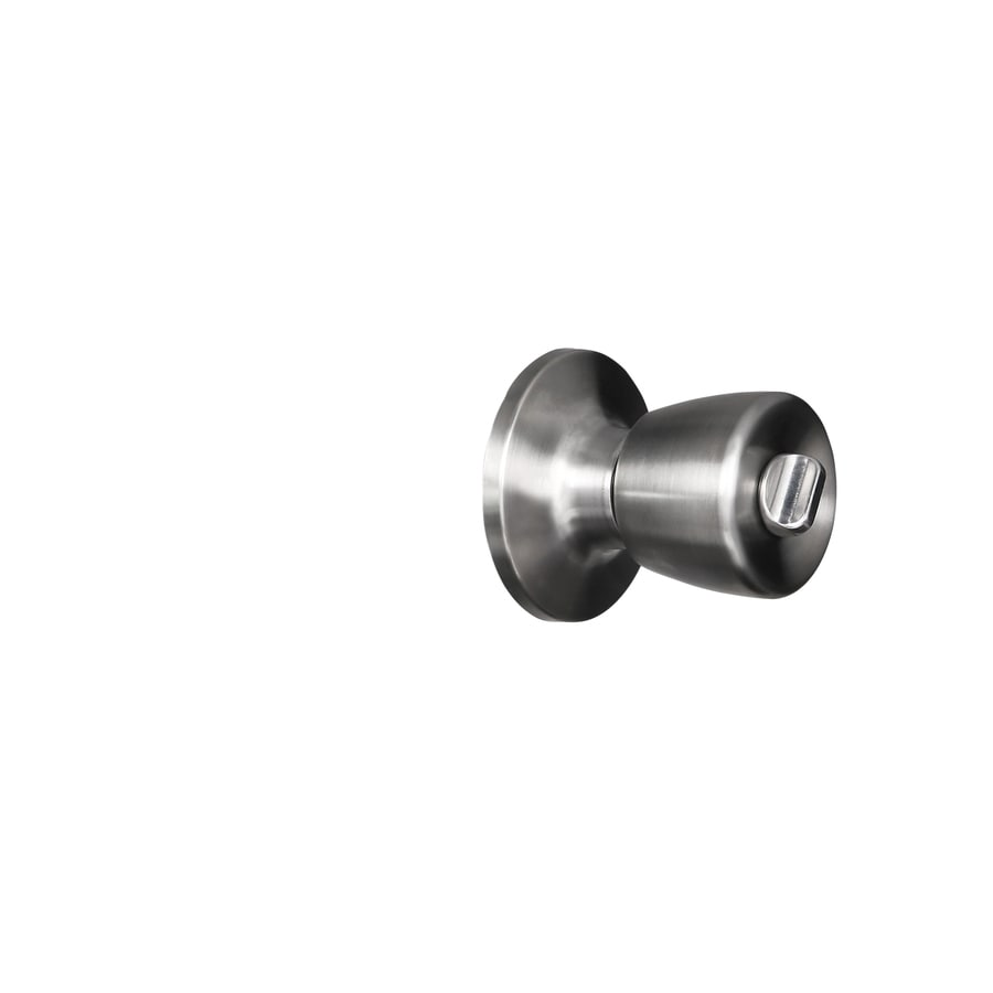 Shop Gatehouse Gallo Satin Chrome Keyed Entry Door Knob at Lowes.com