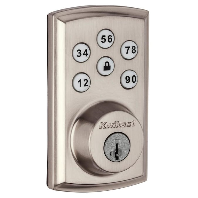 Kwikset Smartcode Deadbolts Touchpad With Home Connect