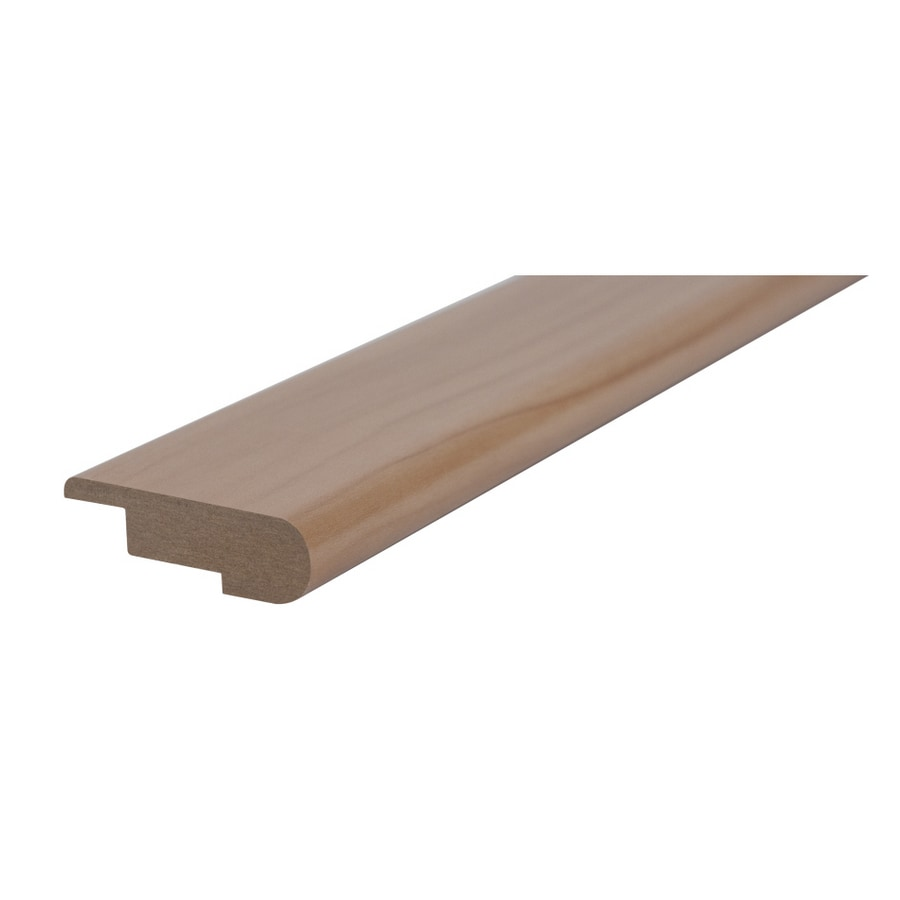 Kronotex 2.35-in x 94-in Walnut Stair Nose Floor Moulding