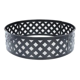 Style Selections GT 30-in Lattice Fire Ring