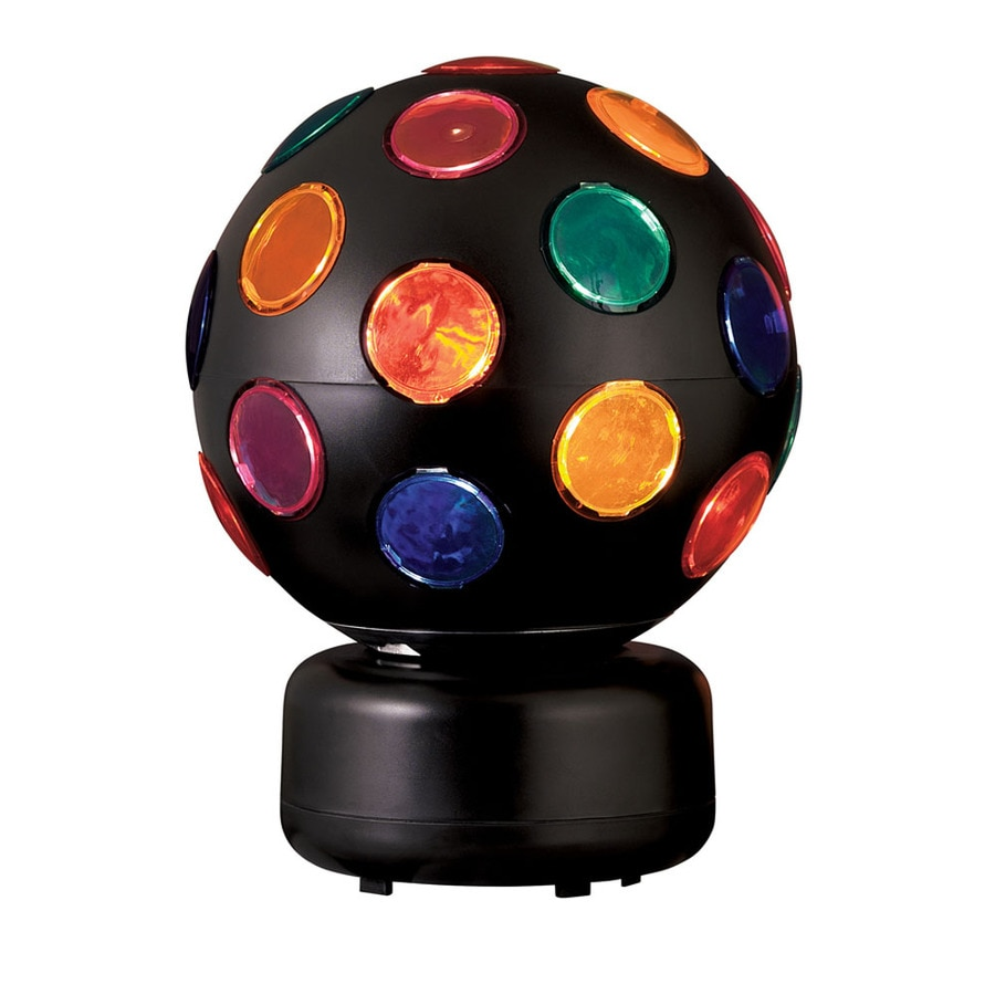 Style Selections 10.6-in Multicolor Disco Ball Party Light Light