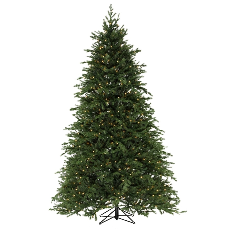 Shop SYLVANIA 7-1/2' Festive Fir Artificial Christmas Tree with ...