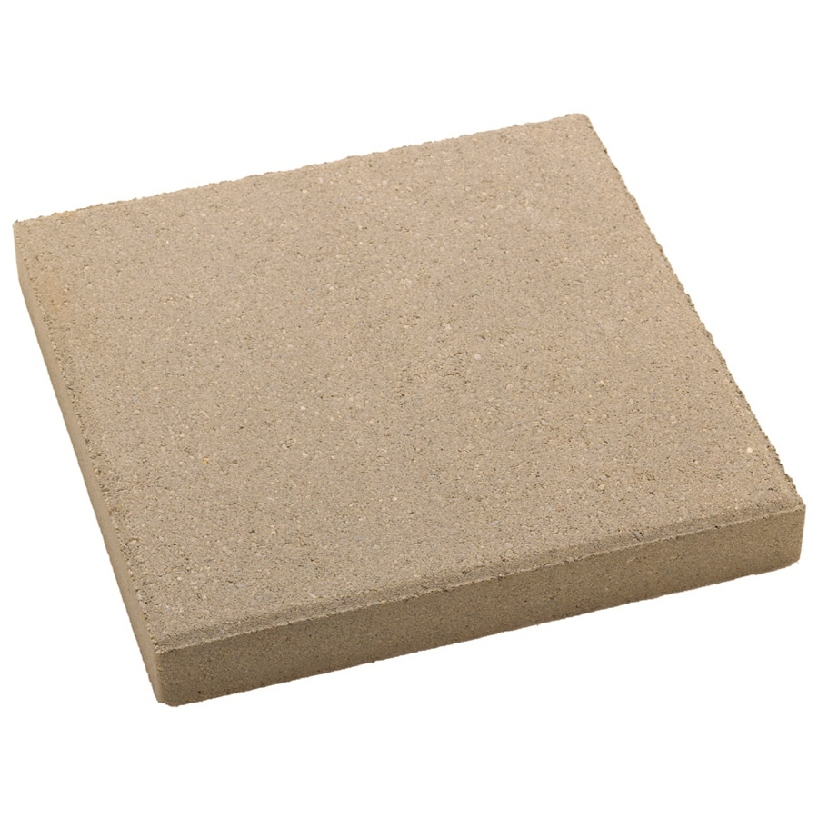 Square Gray Patio Stone (Common: 12-in x 12-in; Actual: 12-in x 12-in)