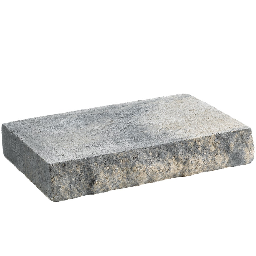Shop Anchor Block Charcoal/Tan Chiselwall Retaining Wall Cap (Common: 12-inx2-in; Actual: 12 ...