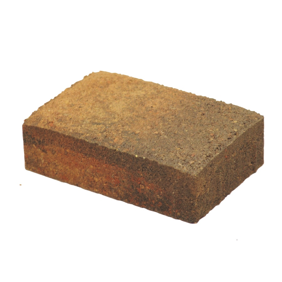 Oldcastle Autumn Blend Paver (Common: 6-in x 8-in; Actual: 5.5-in x 8.25-in)