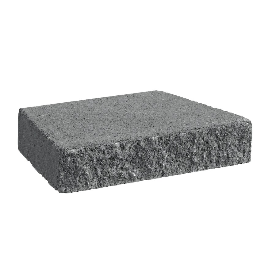 Castlewall Charcoal Retaining Wall Cap (Common: 9-in x 12-in; Actual: 9-in x 12-in)