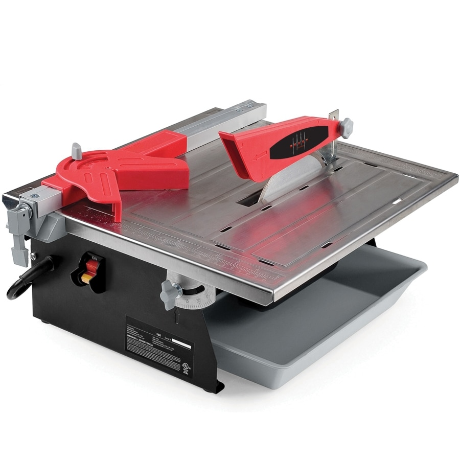 Tile Doctor 7-in 0.75-HP Wet Slide Tile Saw with Stand