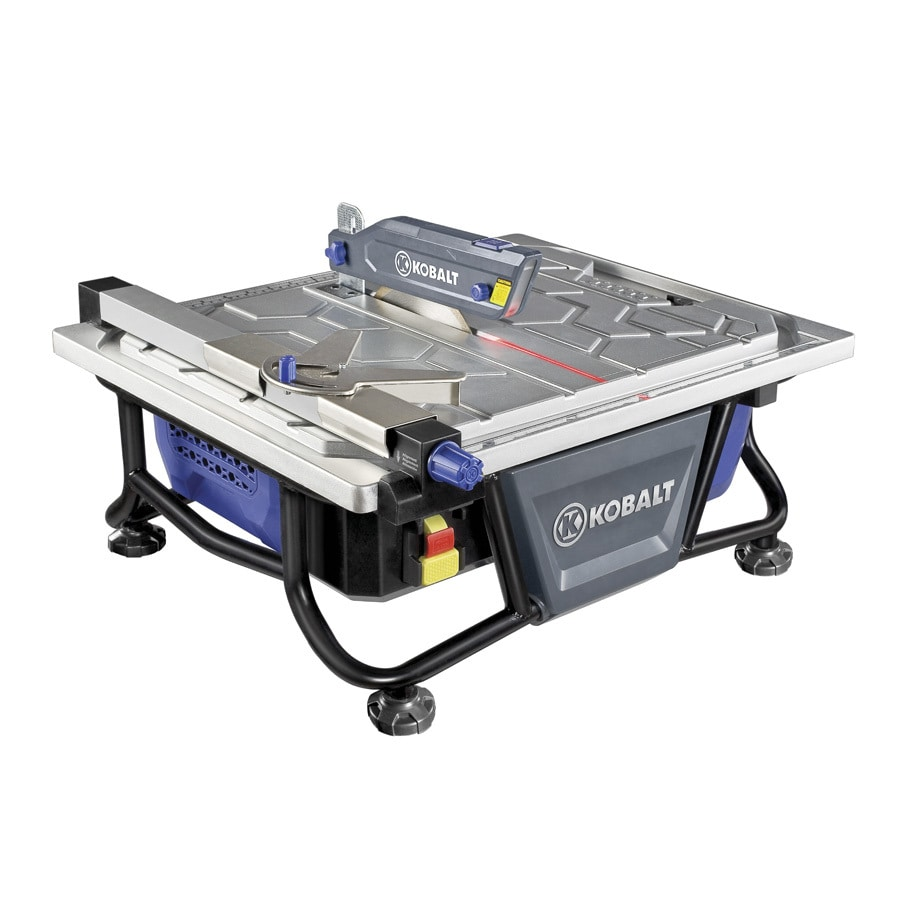kobalt tile saw shop kobalt 7 in tabletop tile saw at lowes 707