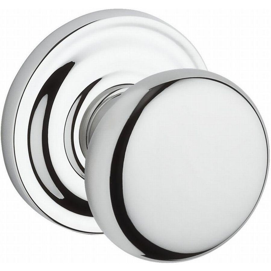 BALDWIN Reserve Polished Chrome Round Passage Door Knob