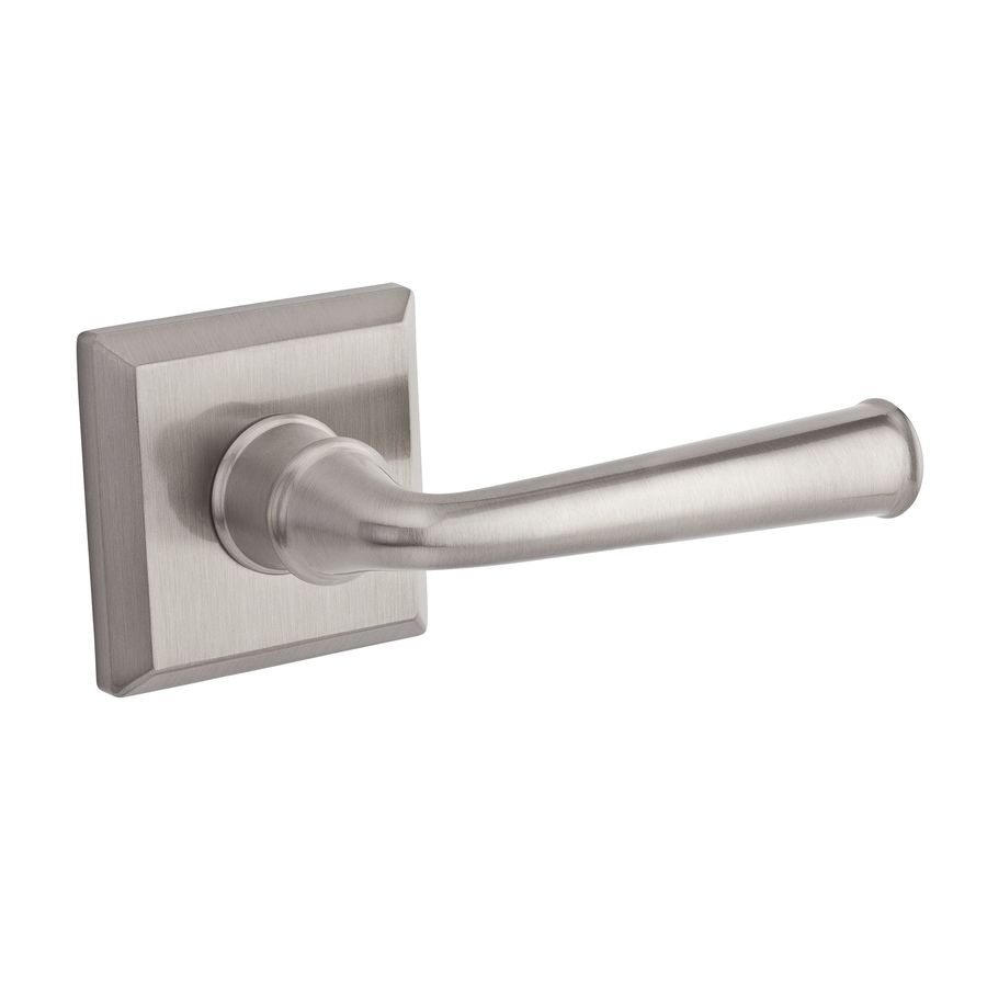 BALDWIN Reserve Federal Satin Nickel Left-Handed Dummy Door Lever