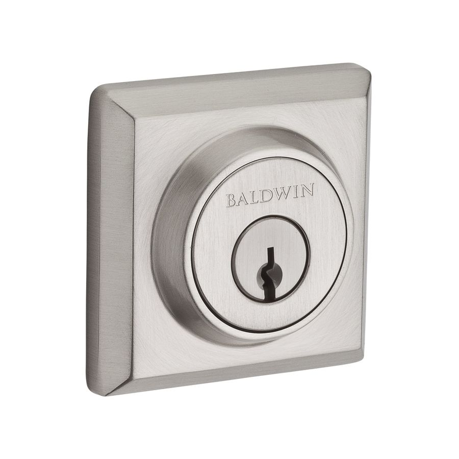 BALDWIN Reserve Satin Nickel Single-Cylinder Deadbolt