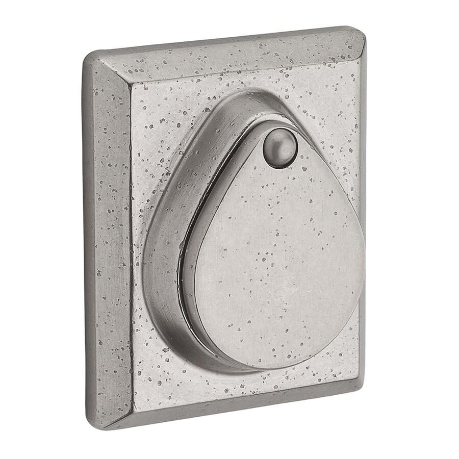 BALDWIN Reserve White Bronze Single-Cylinder Deadbolt