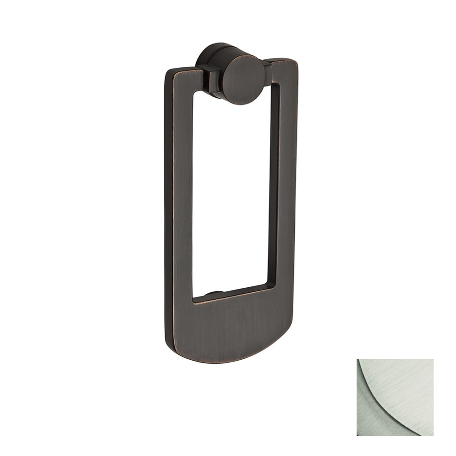 BALDWIN 5.92-in Satin Nickel Entry Door Knocker