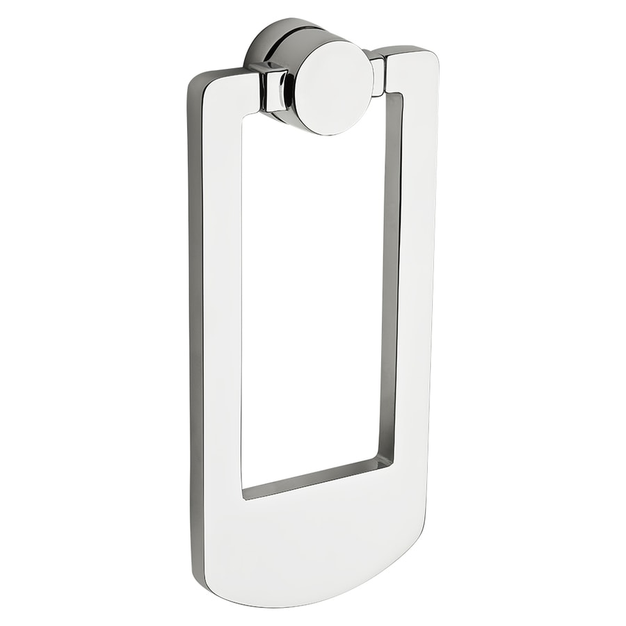 BALDWIN 5.92-in Polished Chrome Entry Door Knocker