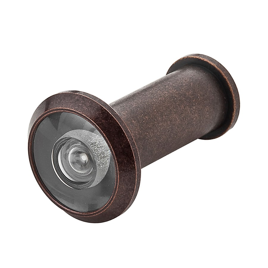 BALDWIN 1.02-in 170-Degree Venetian Bronze Entry Door Viewer