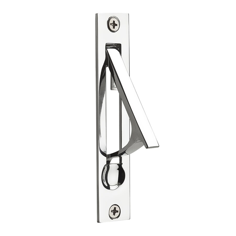 BALDWIN 0.74-in Polished Chrome Pocket Door Pull