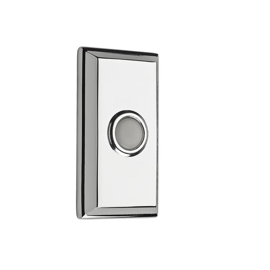 BALDWIN Polished Chrome Doorbell Button