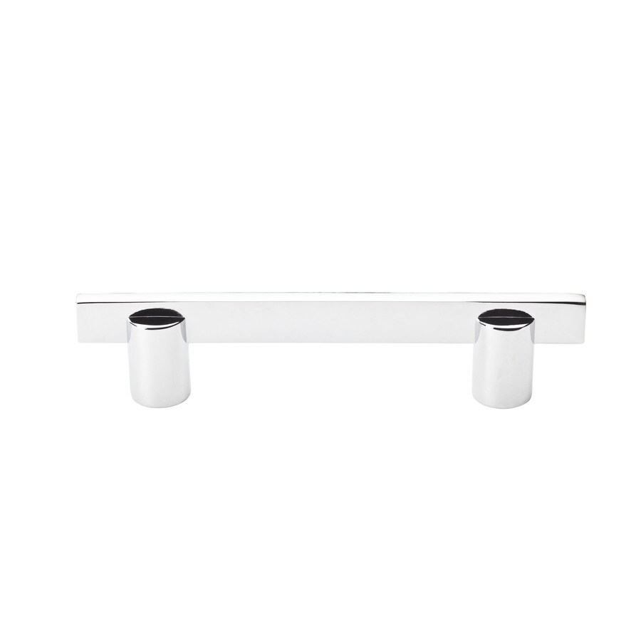 BALDWIN 3-1/2-in Center-to-Center Polished Chrome Prestige Rectangular Cabinet Pull