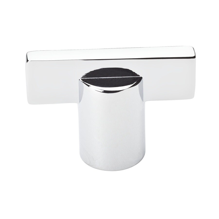 BALDWIN Prestige Polished Chrome Square Cabinet Knob