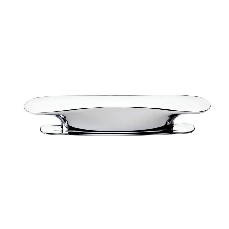 BALDWIN 3-in Center-to-Center Polished Chrome Prestige Rectangular Cabinet Pull