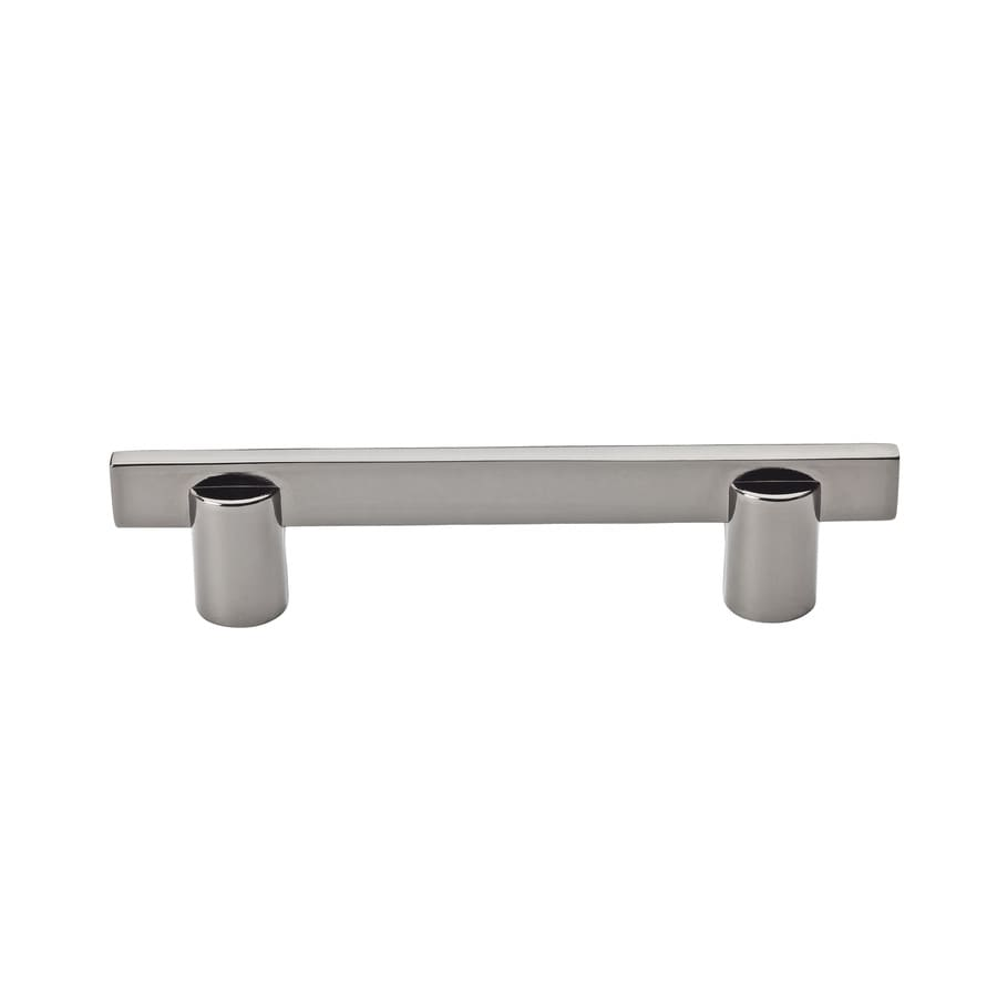 BALDWIN 3-1/2-in Center-to-Center Black Chrome Prestige Rectangular Cabinet Pull