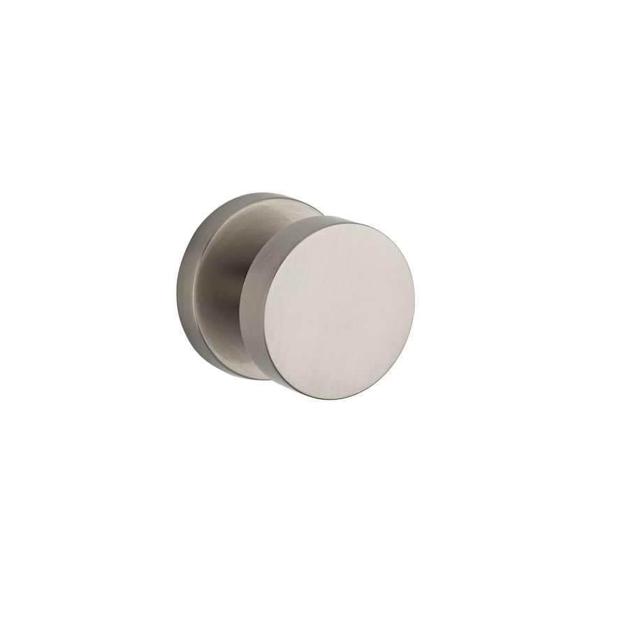 BALDWIN Reserve Contemporary Satin Nickel Dummy Door Knob
