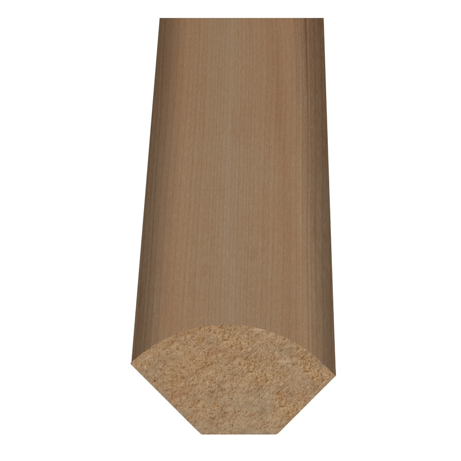 Style Selections 1-in x 94-in Light Maple Woodgrain Quarter Round Floor Moulding