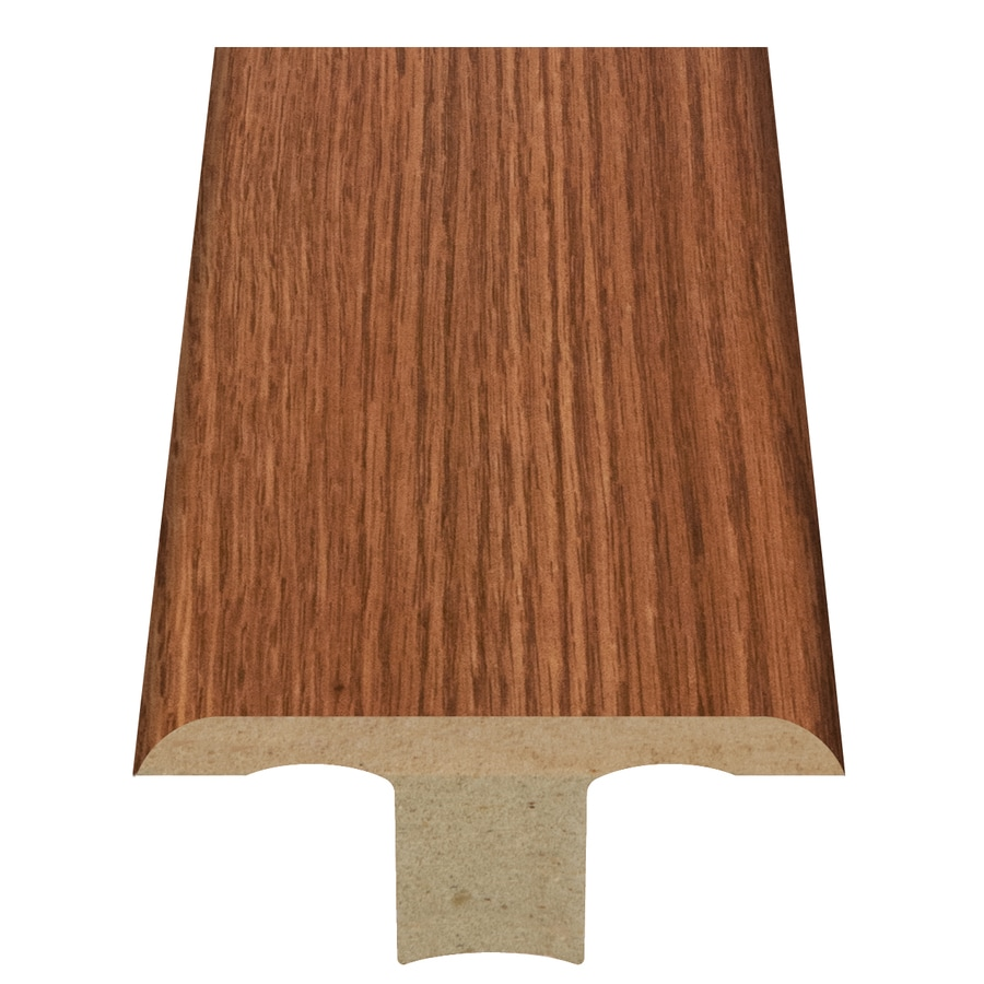 Style Selections 1.75-in x 94-in Orange Oak Woodgrain T-Floor Moulding