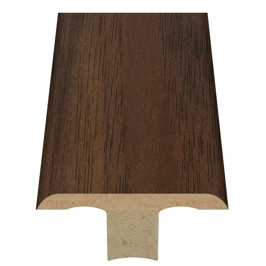 Style Selections 1.75-in x 94-in Toasted Chestnut T-Floor Moulding