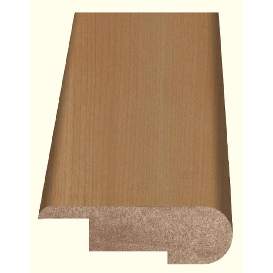 Style Selections 2.37-in x 94-in Light Maple Woodgrain Stair Nose Floor Moulding