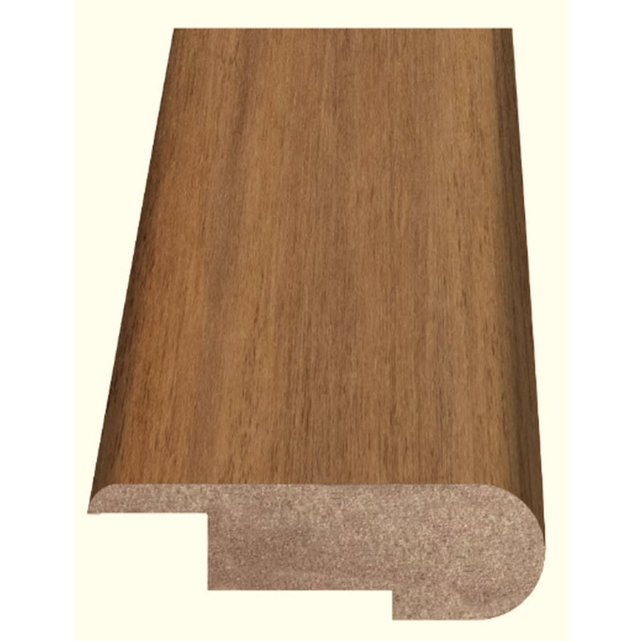 Style Selections 2.37-in x 94-in Light Brown Maple Woodgrain Stair Nose Floor Moulding