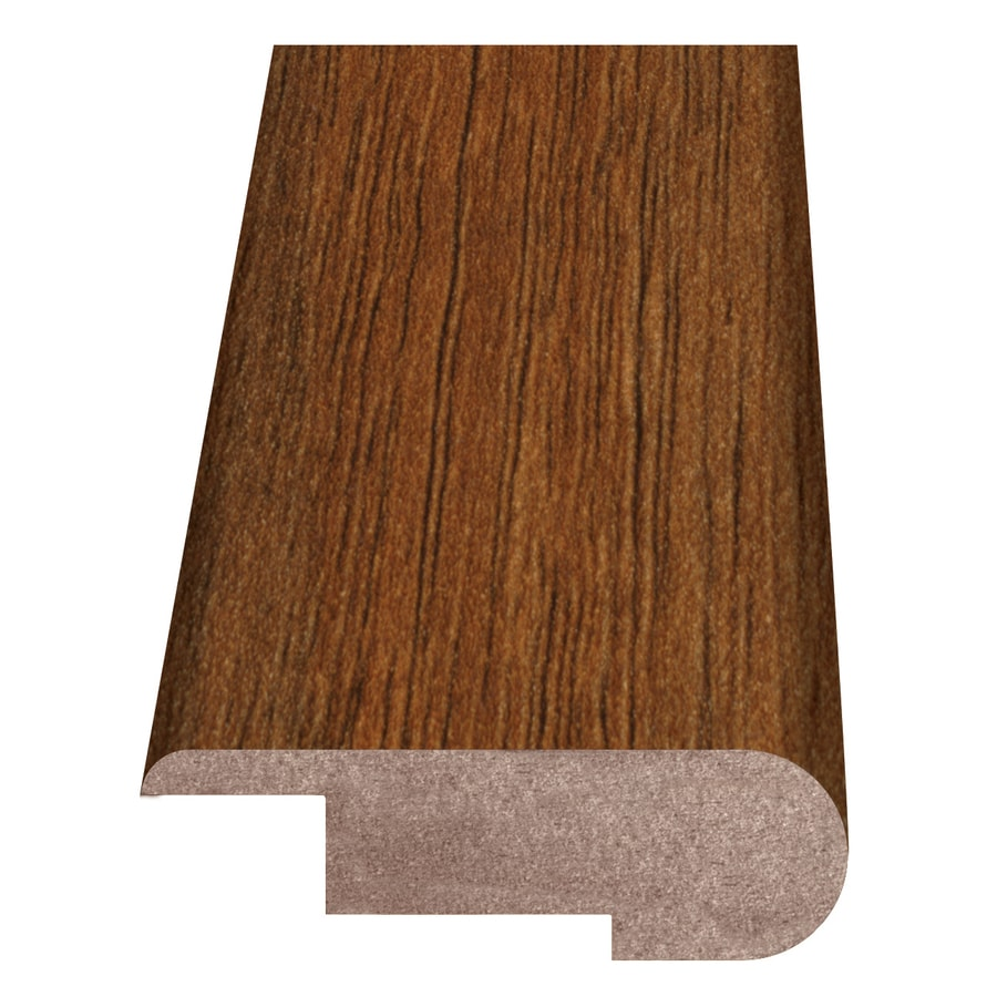 Style Selections 2.37-in x 94-in HS Natural Acacia Stair Nose Floor Moulding