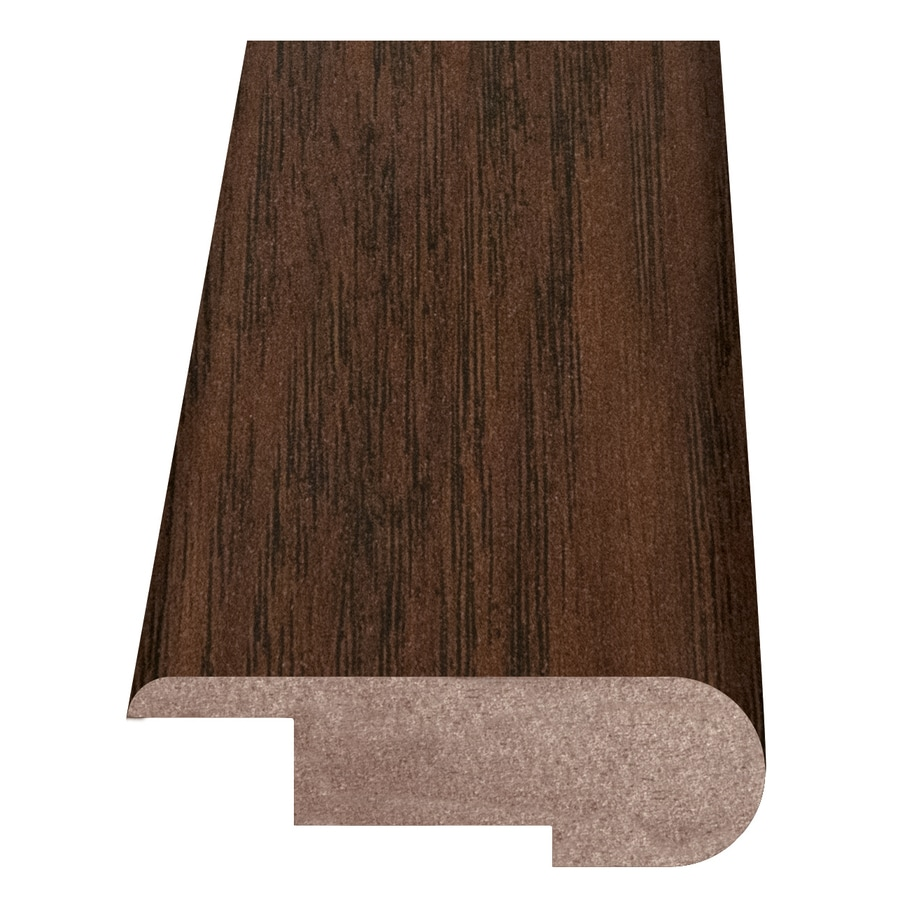 Style Selections 2.37-in x 94-in Toasted Chestnut Stair Nose Floor Moulding