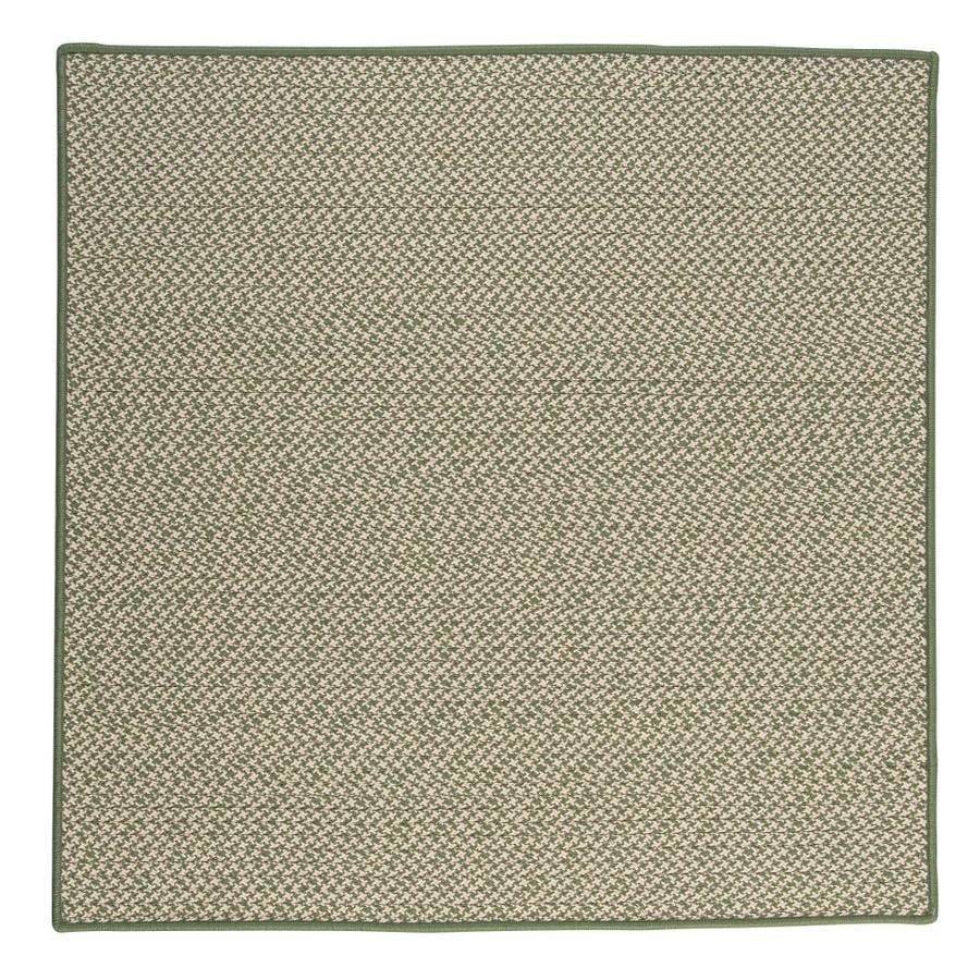 Colonial Mills Outdoor Houndstooth Tweed Leaf Green Square
