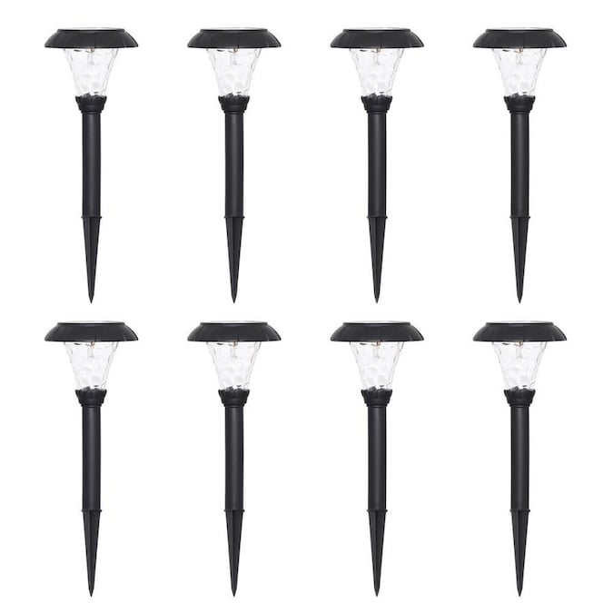 Westinghouse 8-Pack 1-Watt Black Low Voltage Solar LED Path Light $18.99