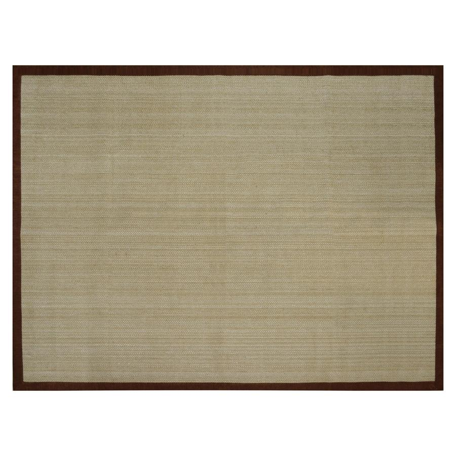 allen + roth Northbridge Brown Rectangular Indoor Woven Area Rug (Common: 9 x 12; Actual: 9-ft W x 12-ft L)
