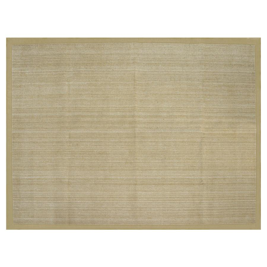 Allen + Roth Northbridge Bay Natural Rectangular Indoor Handcrafted Area Rug  (Common: 8 X