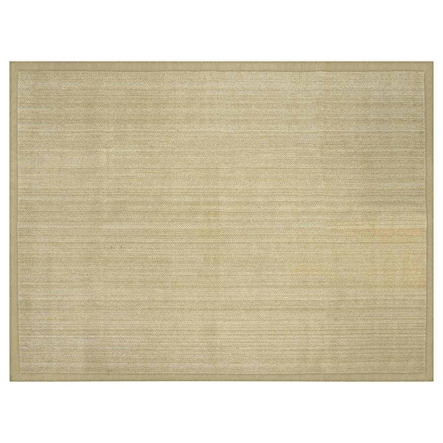 allen + roth Northbridge Bay Natural Rectangular Indoor Woven Area Rug (Common: 9 x 12; Actual: 9-ft W x 12-ft L)